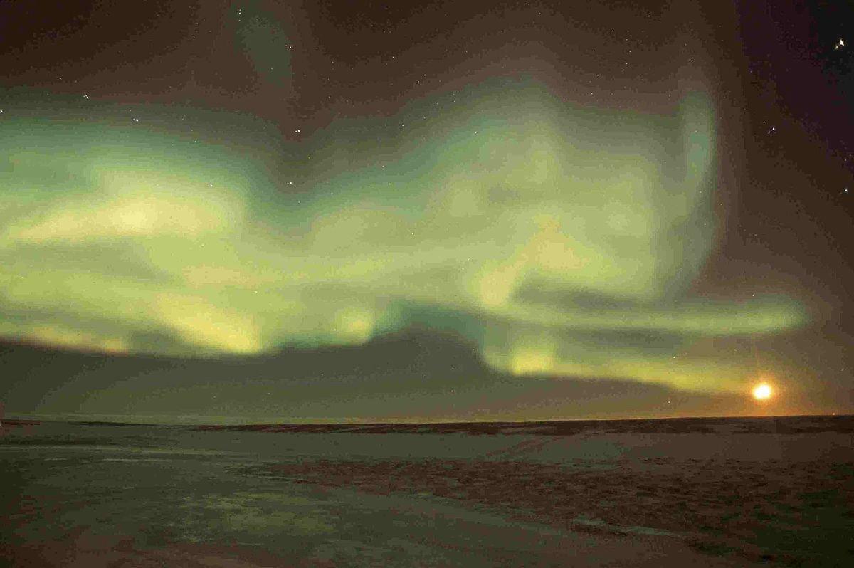 Kanada Wapusk National Park Polarlichter