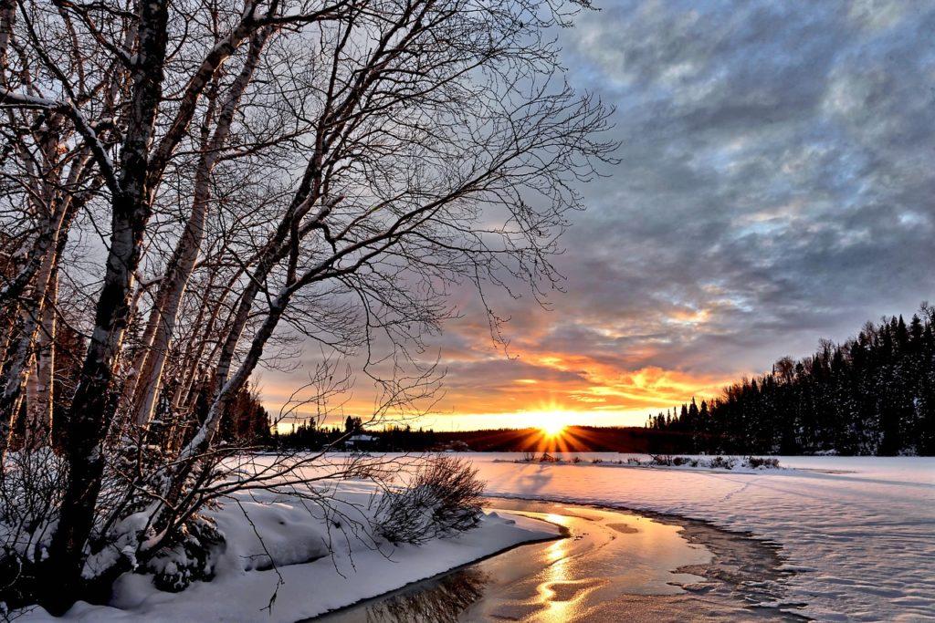 Kanada - Winterlandschaft