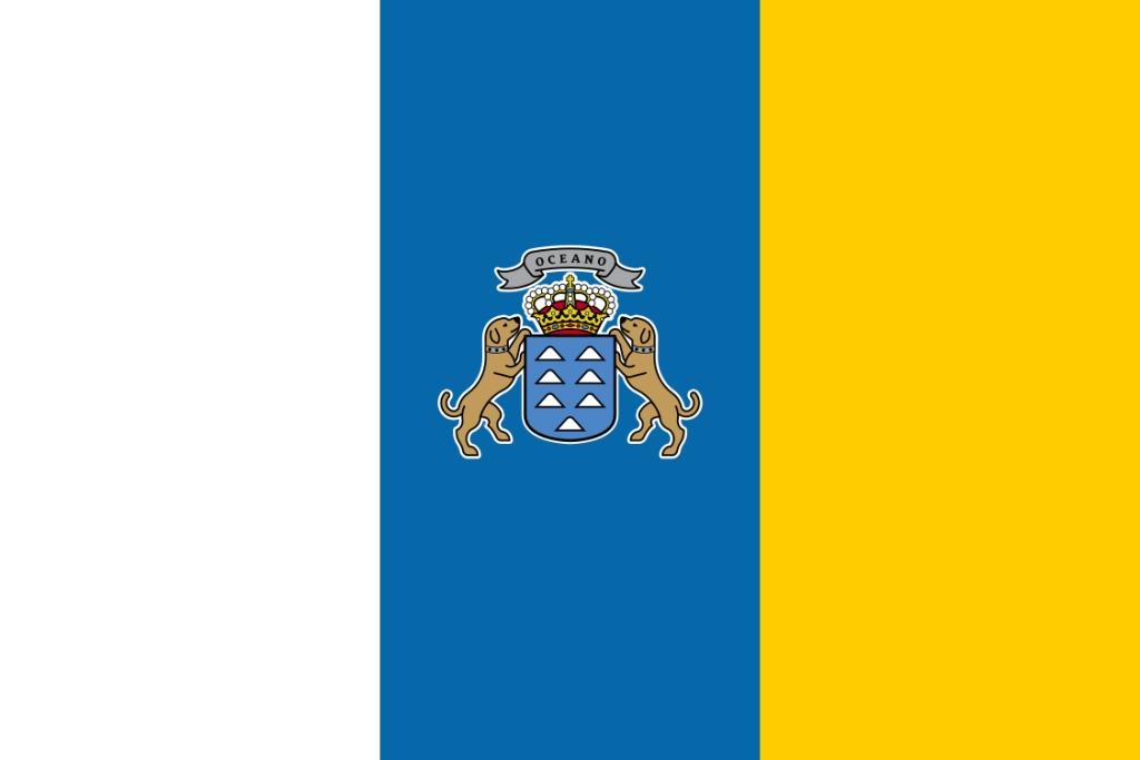 Kanarische Inseln Flagge