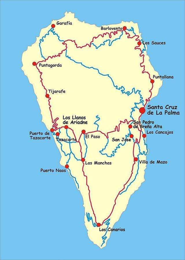 Kanarische Inseln La Palma