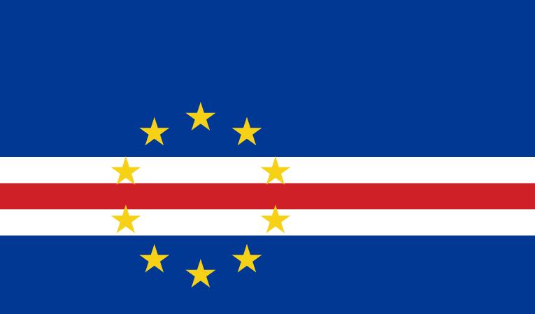 Kap Verde Flagge