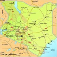 Kenia Karten