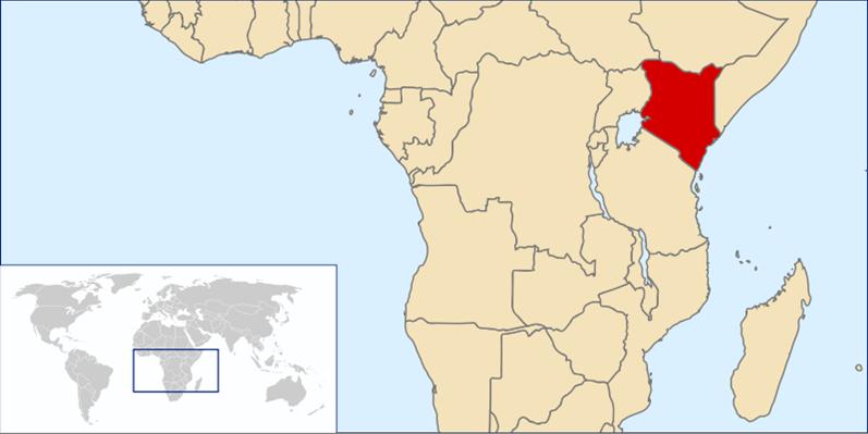 Kenia Lage