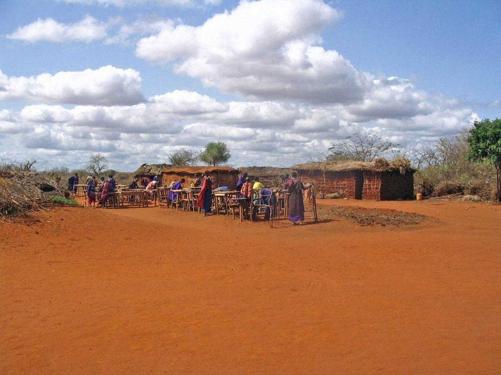 Kenia - Massai Dorf