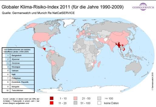 Klima Risiko Index