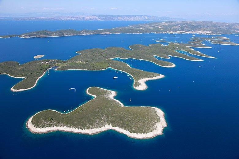 Kroatien - Pakleni Otoci
