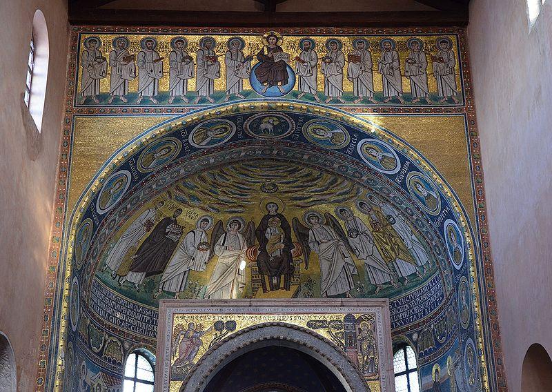 Kroatien - Porec - Basilika
