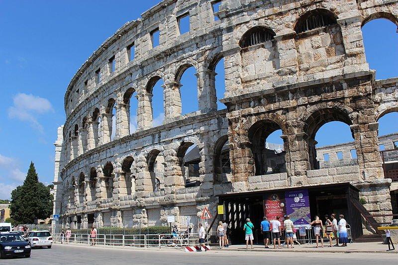 Kroatien - Pula - Amphitheater