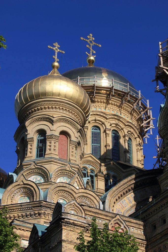 Lettland - Liepaja - Kirche