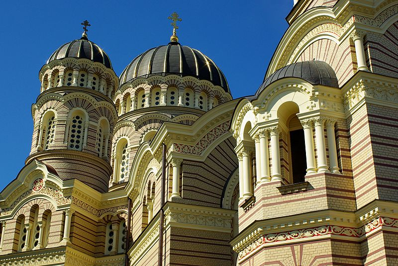 Lettland Riga Russisch-orthodoxe Kathedrale