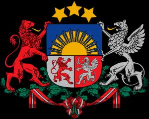 Lettland-Wappen