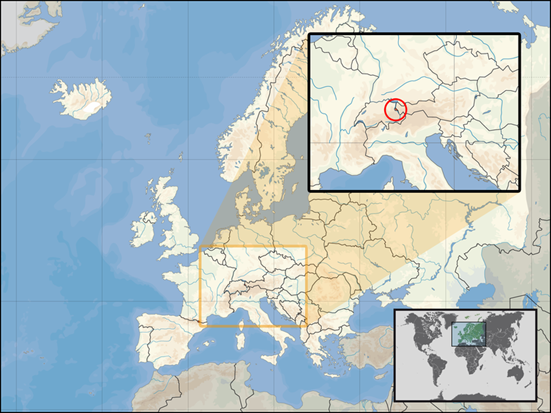 Liechtenstein Lage