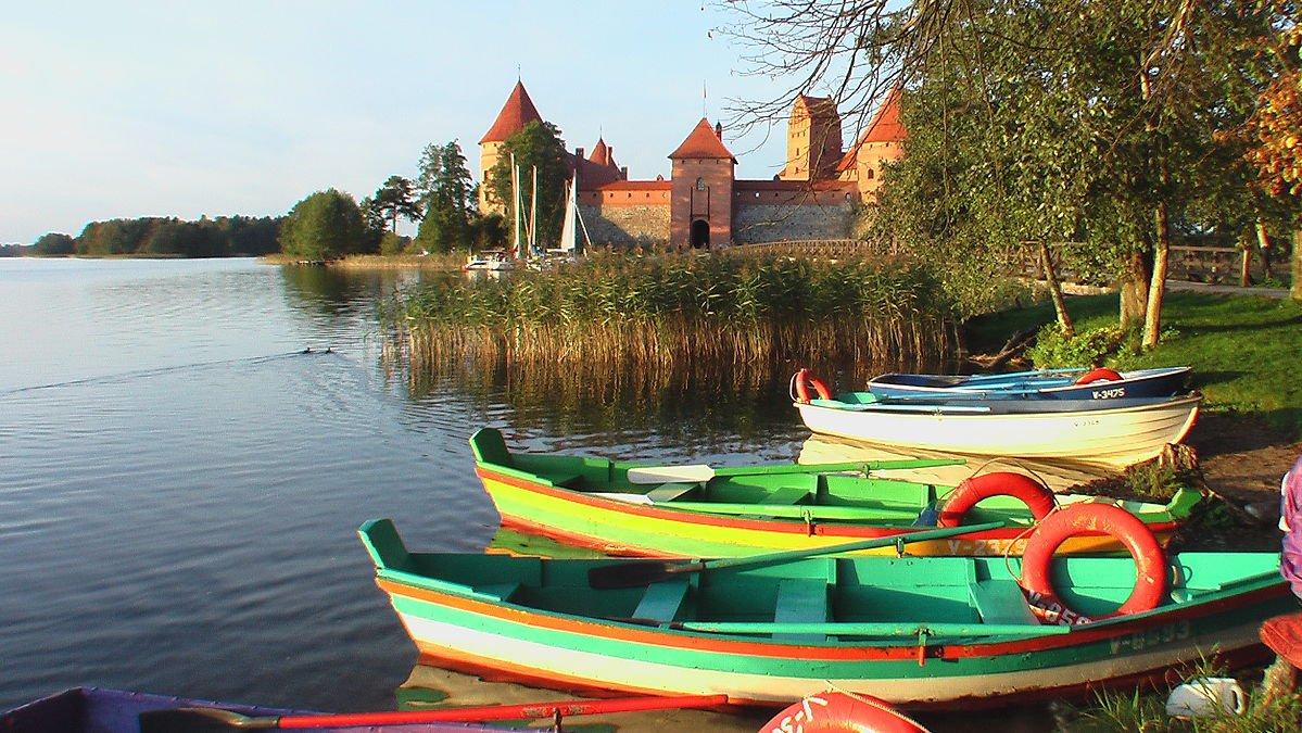 Litauen Burg Trtakai
