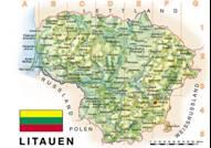 Litauen Karten