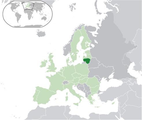 Litauen Lage