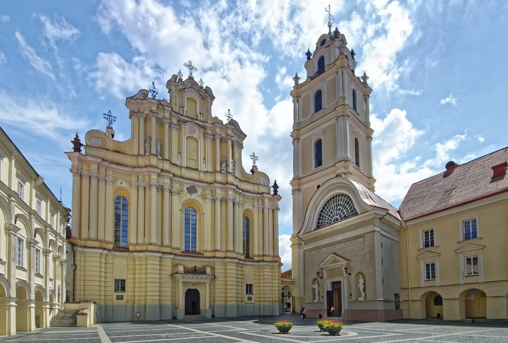 Llitauen - Vilnius - Altstadt