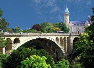 Luxemburg Adolphe Brücke