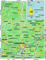 Luxemburg Karten