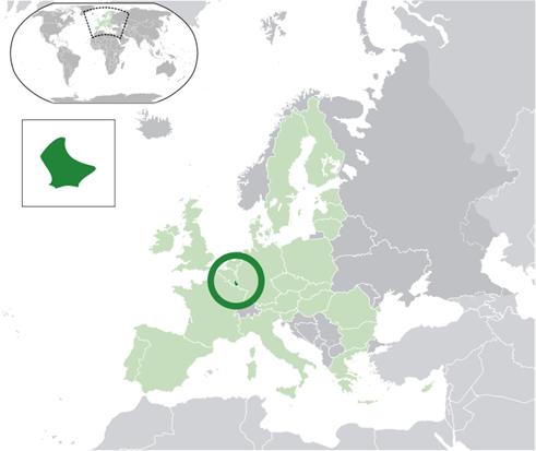 Luxemburg Lage