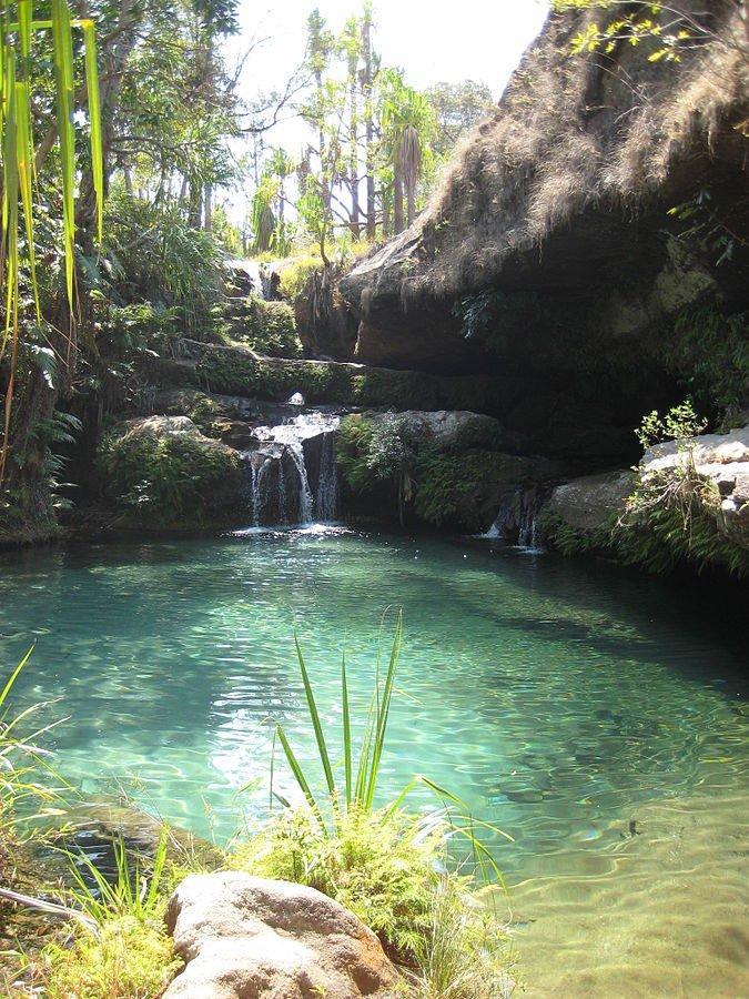 Madagaskar Isalo NP Natur Pool