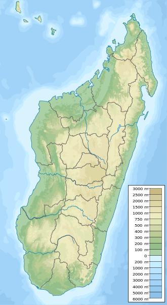 Madagaskar-Karte