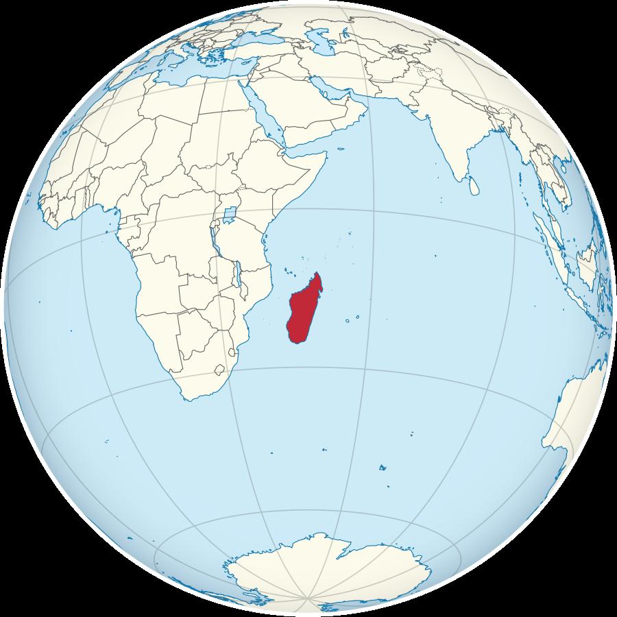 Madagaskar-Lage