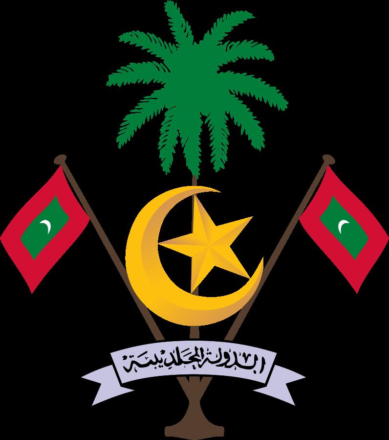 Malediven Wappen