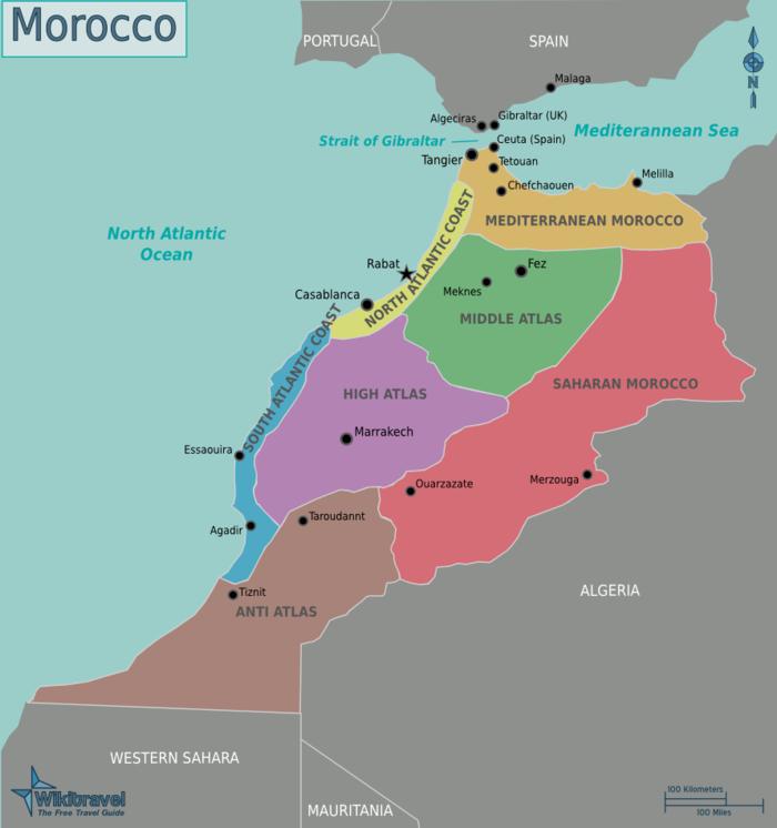Marokko Regionen