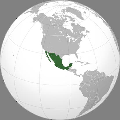 Mexiko Lage