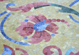 Mosaik Fussboden