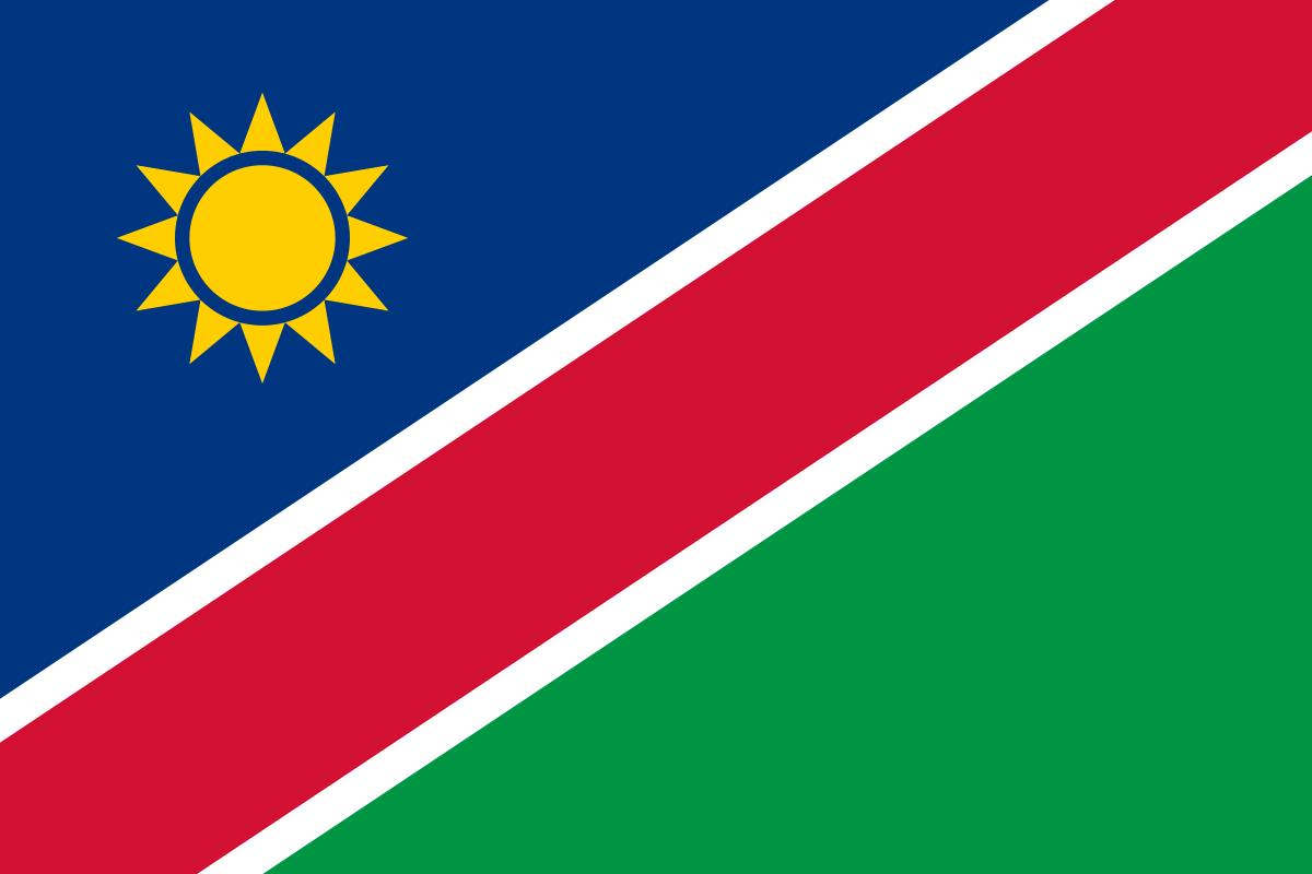 Namibia-Flagge