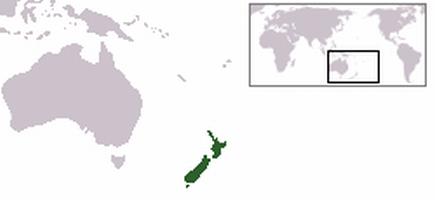 Neuseeland Lage