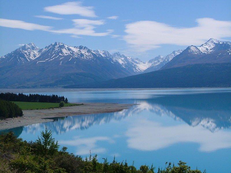 Neuseeland Tasman Valley