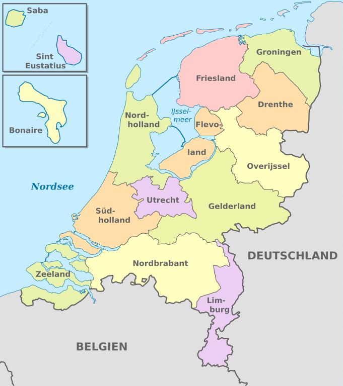 Karte Von Holland Und Belgien.Auswandern In Die Niederlande Aktuell Infos Zur Einwanderung