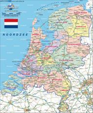 Niederlande Karten