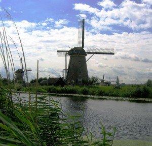 Niederlande Kinderdijk