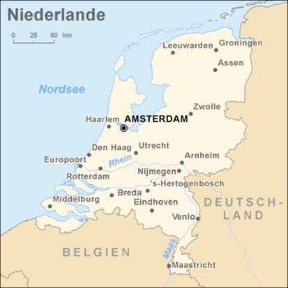 karte niederland