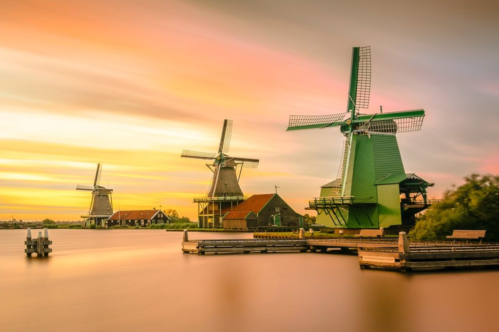 Niederlande - Windmühlen