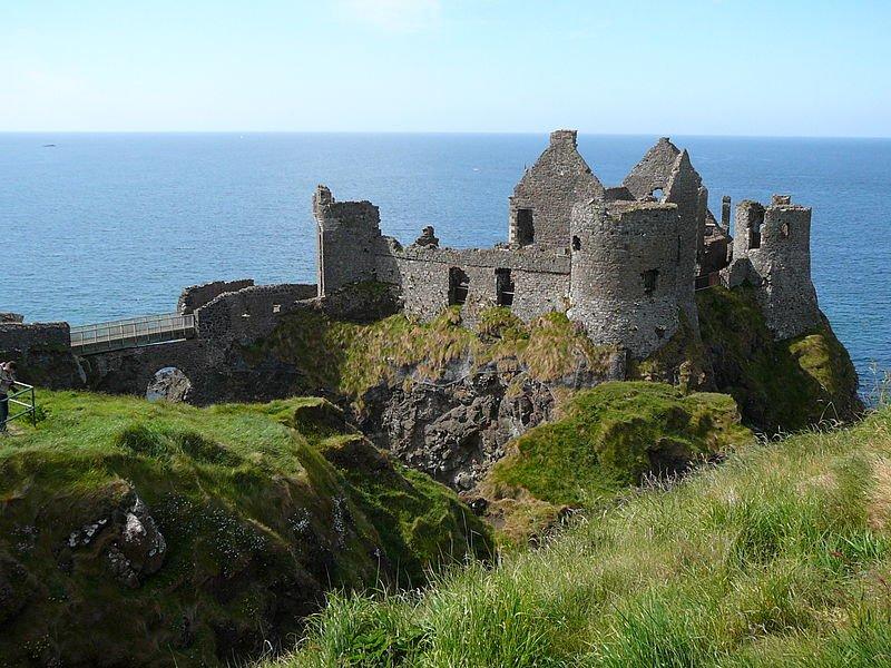 Nordirland Dunluce Castle