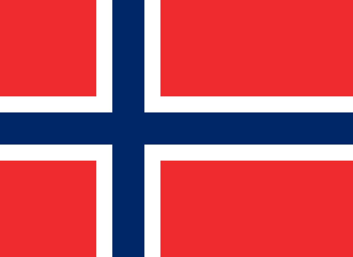 Norwegen-Flagge