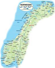 Norwegen Karten