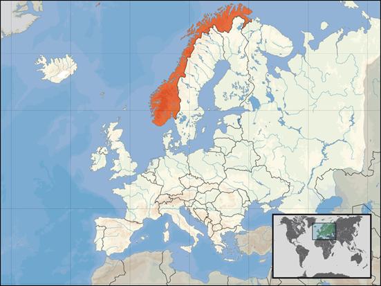 Norwegen Lage