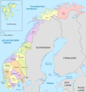 Norwegens Verwaltungsgliederung