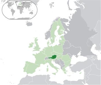 Österreich Lage