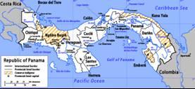 Panama Karten