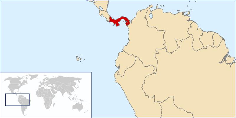 Panama Lage