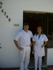 Zahnarzt Dr. Karl Kiep und Frau Felicia