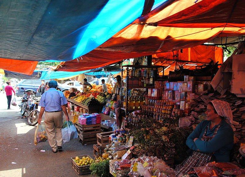 Paraguay Markttreiben