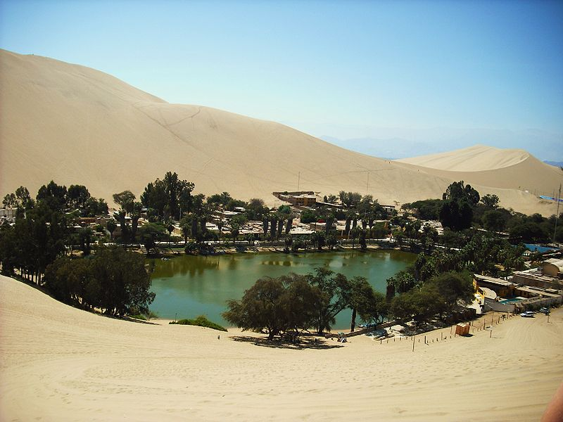 Peru Huacachina Oasis