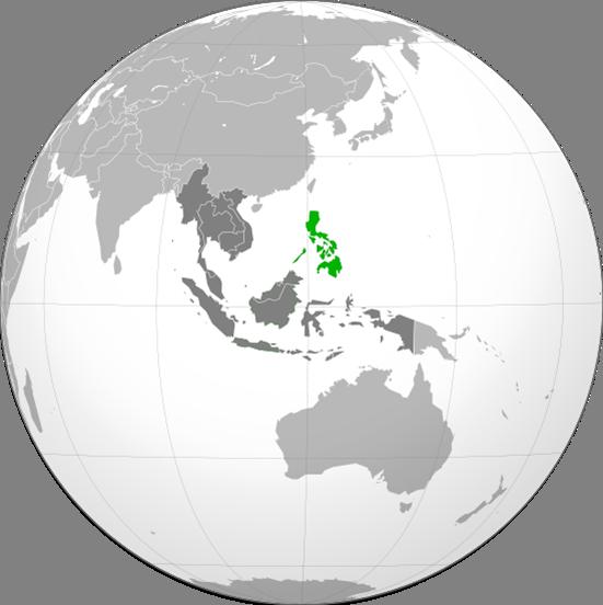 Philippinen Lage
